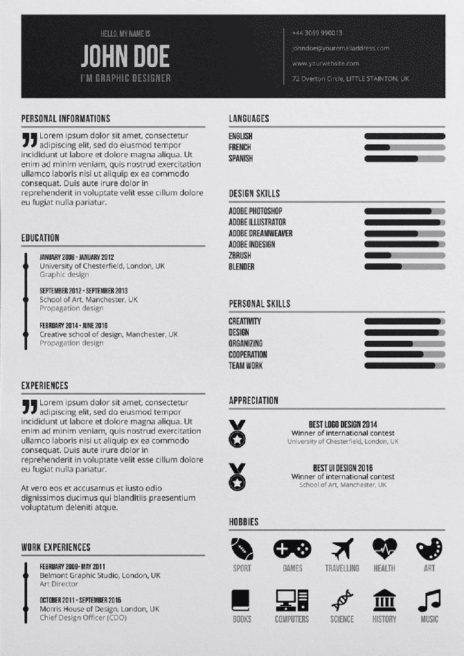 Free Indesign Resume Template from cdn-images.resumelab.com