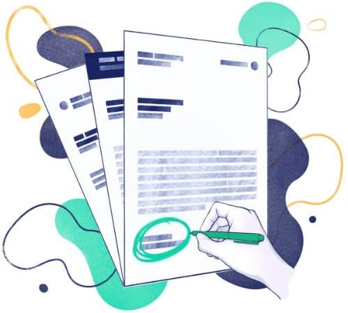 Esempio di lettera di presentazione generica da usare con il cv