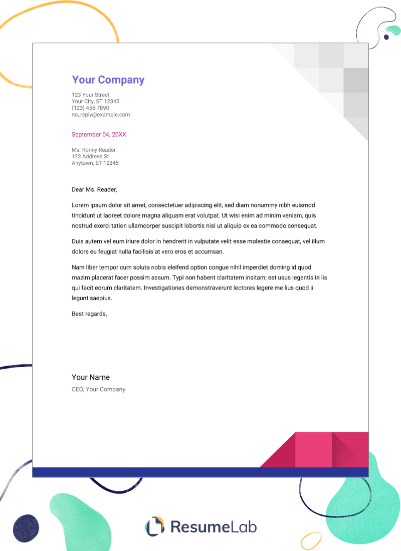 Cover Letter Templates For Google Docs Gallery Amp 25 Examples