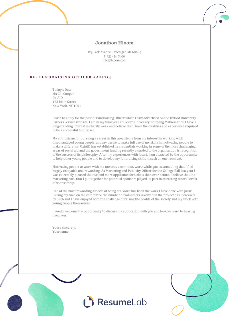 cover letter templates for google docs  gallery  u0026 25 examples