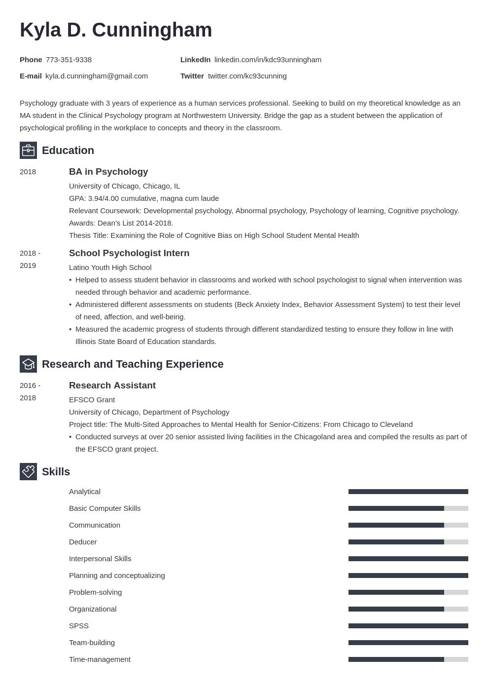 graduate school template newcast uk