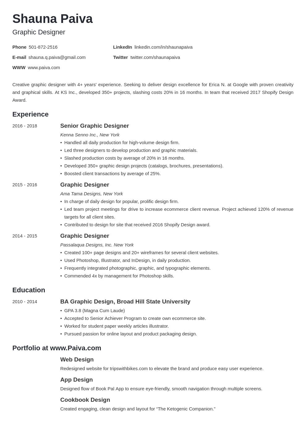 graphic design template minimo uk