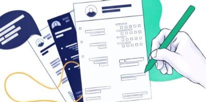 CV graphiste: exemple original pour designer graphique [2021]