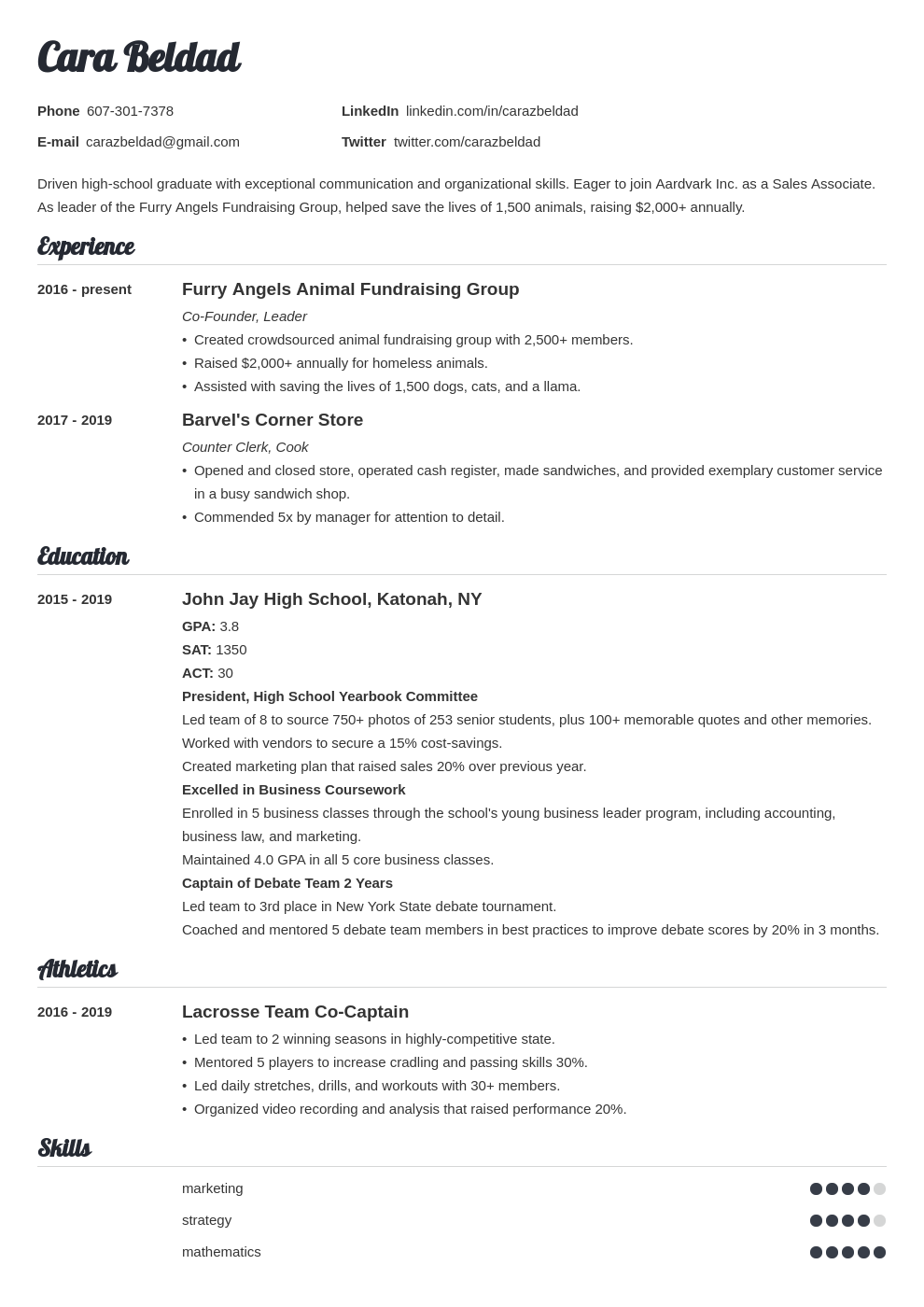 high school graduate template valera