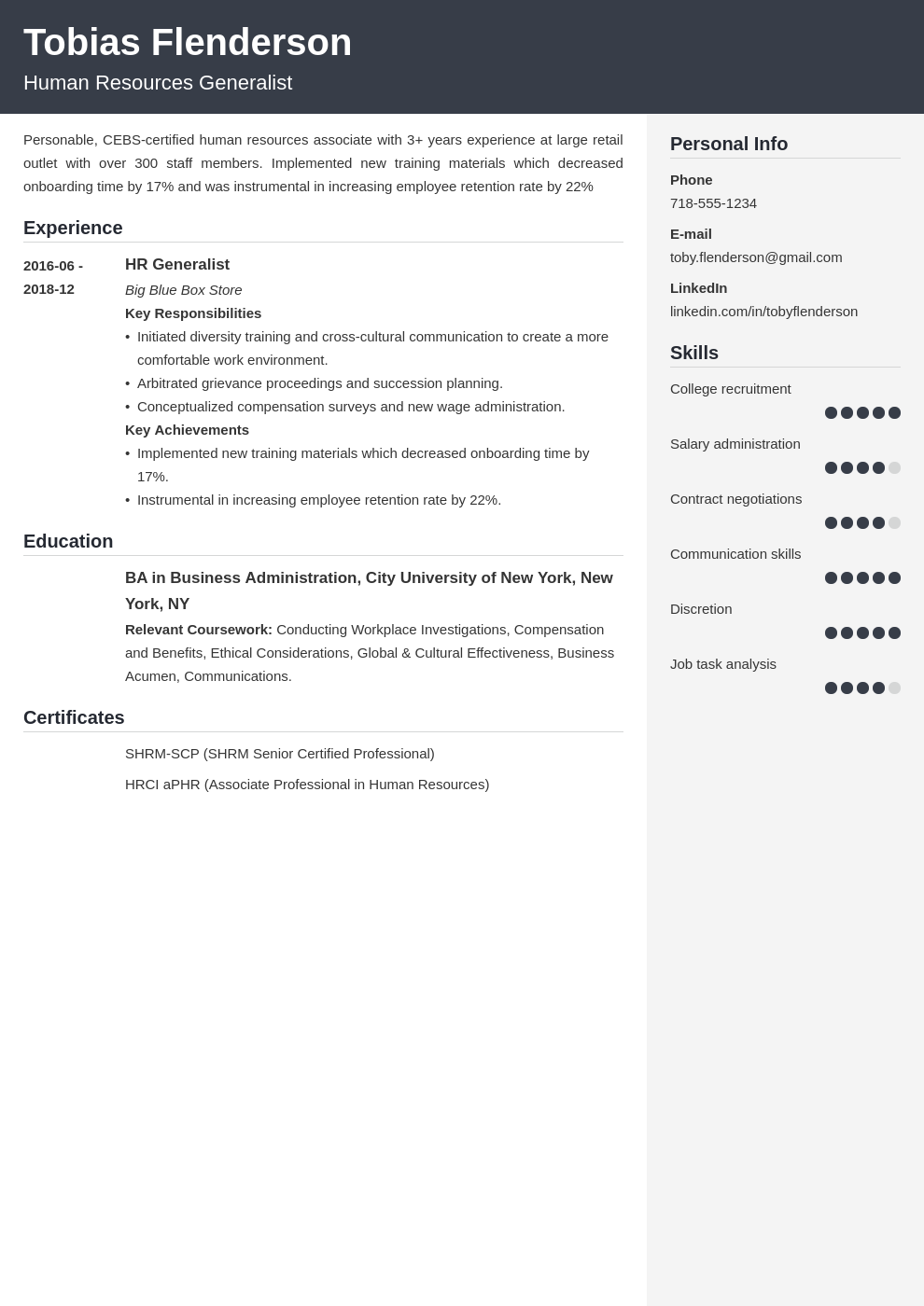 human resources template cubic uk