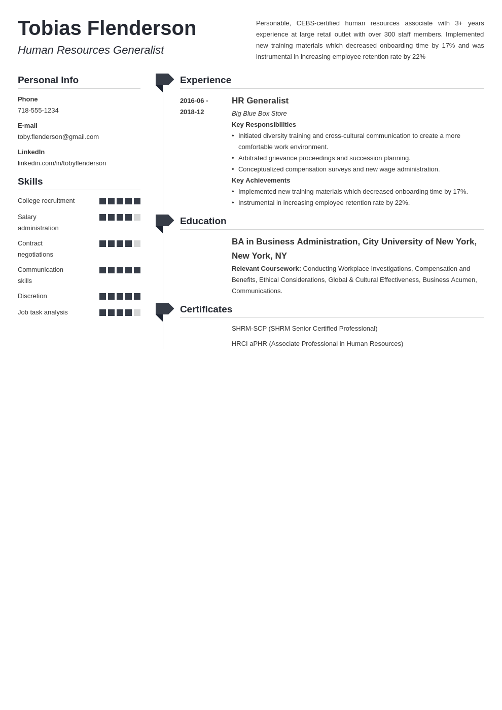 human resources template muse uk