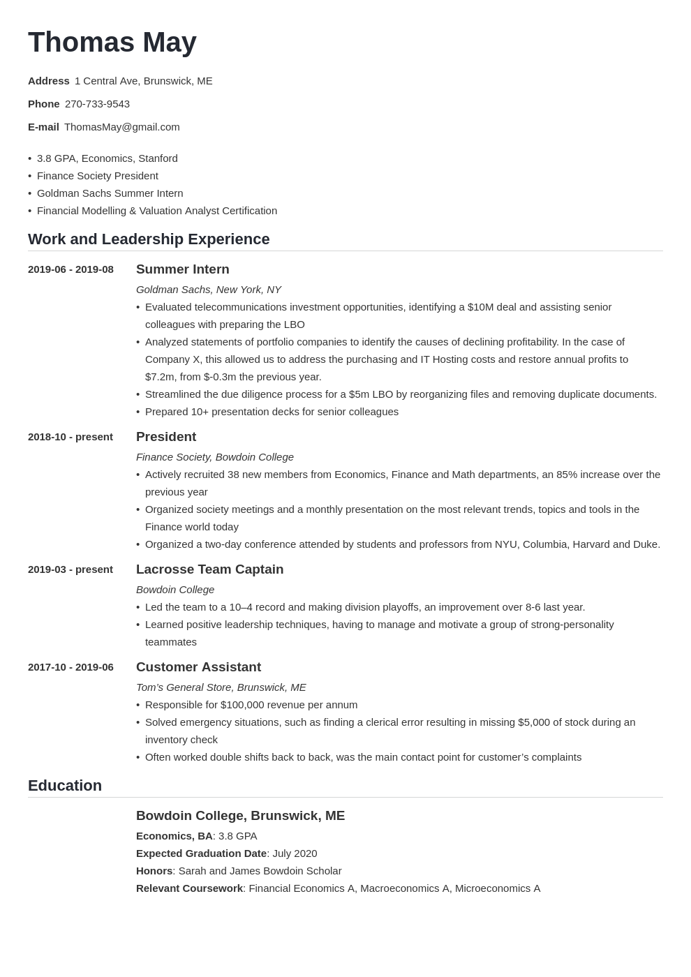 investment banking template nanica uk