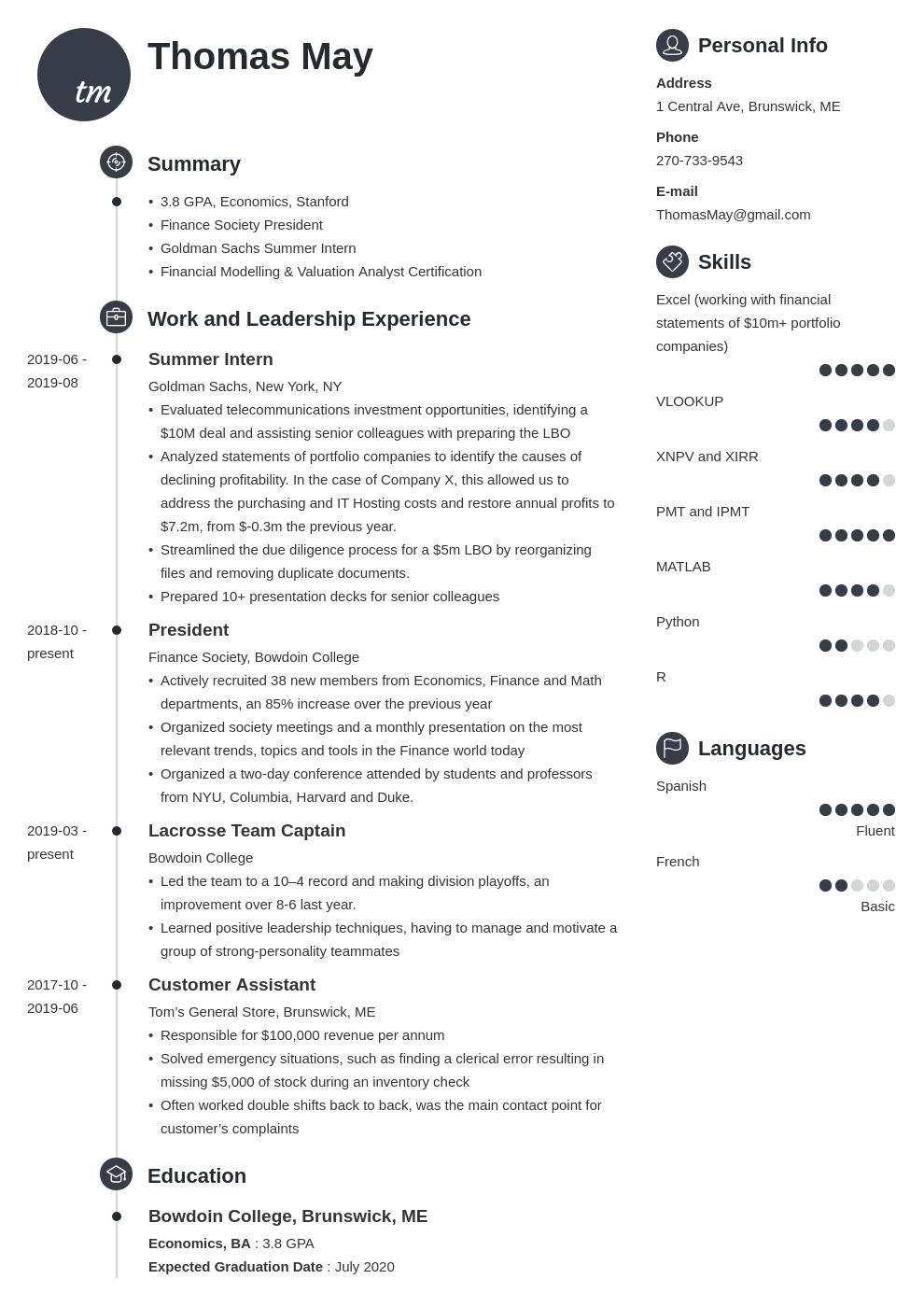 investment banking template primo uk