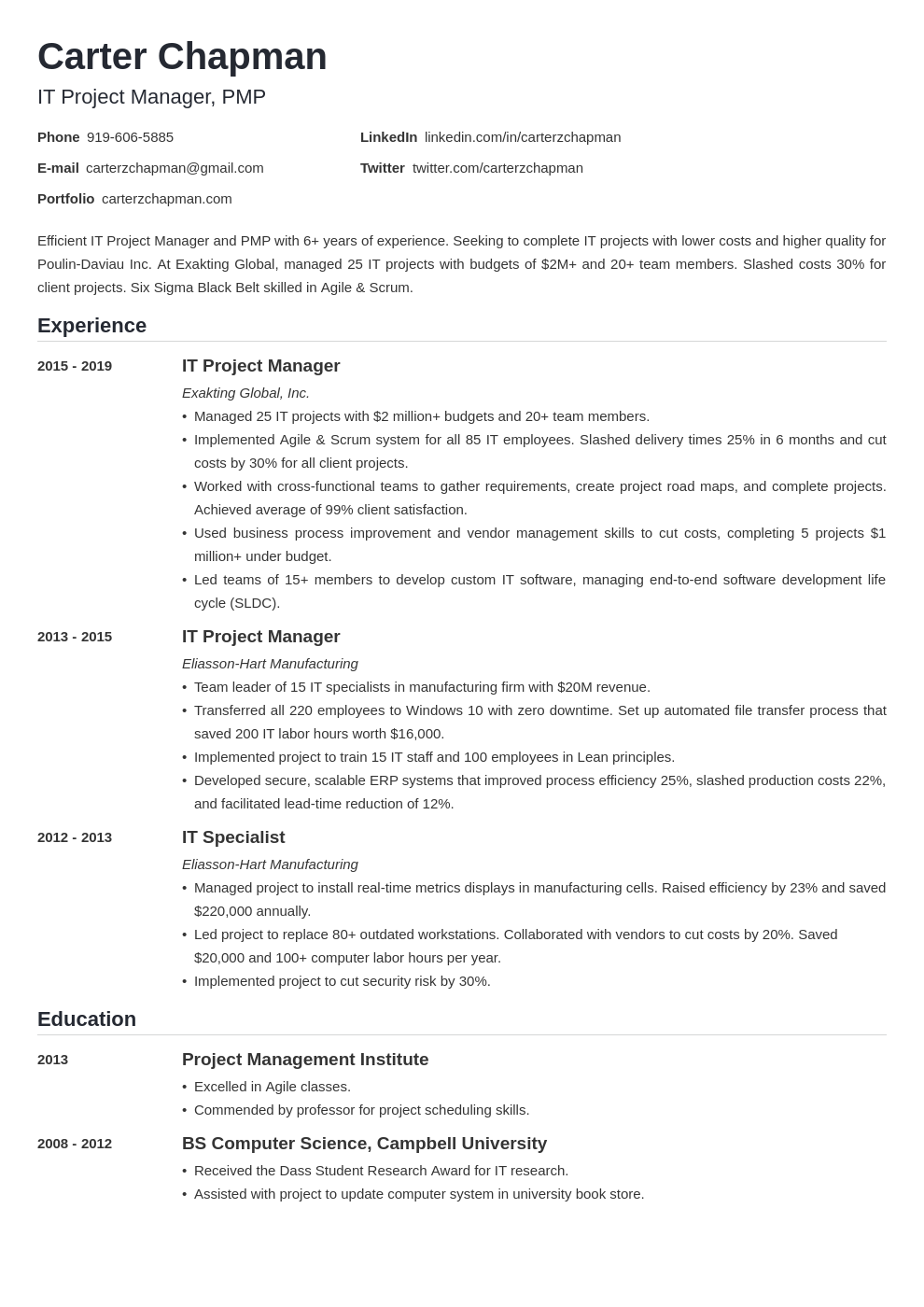it project manager template nanica uk