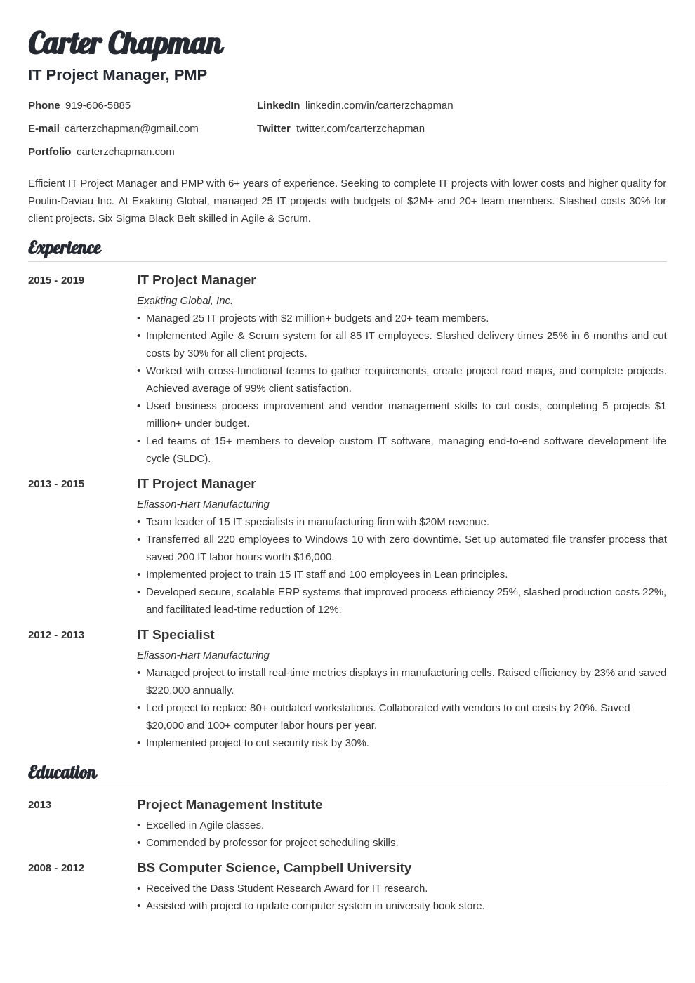 it project manager template valera uk