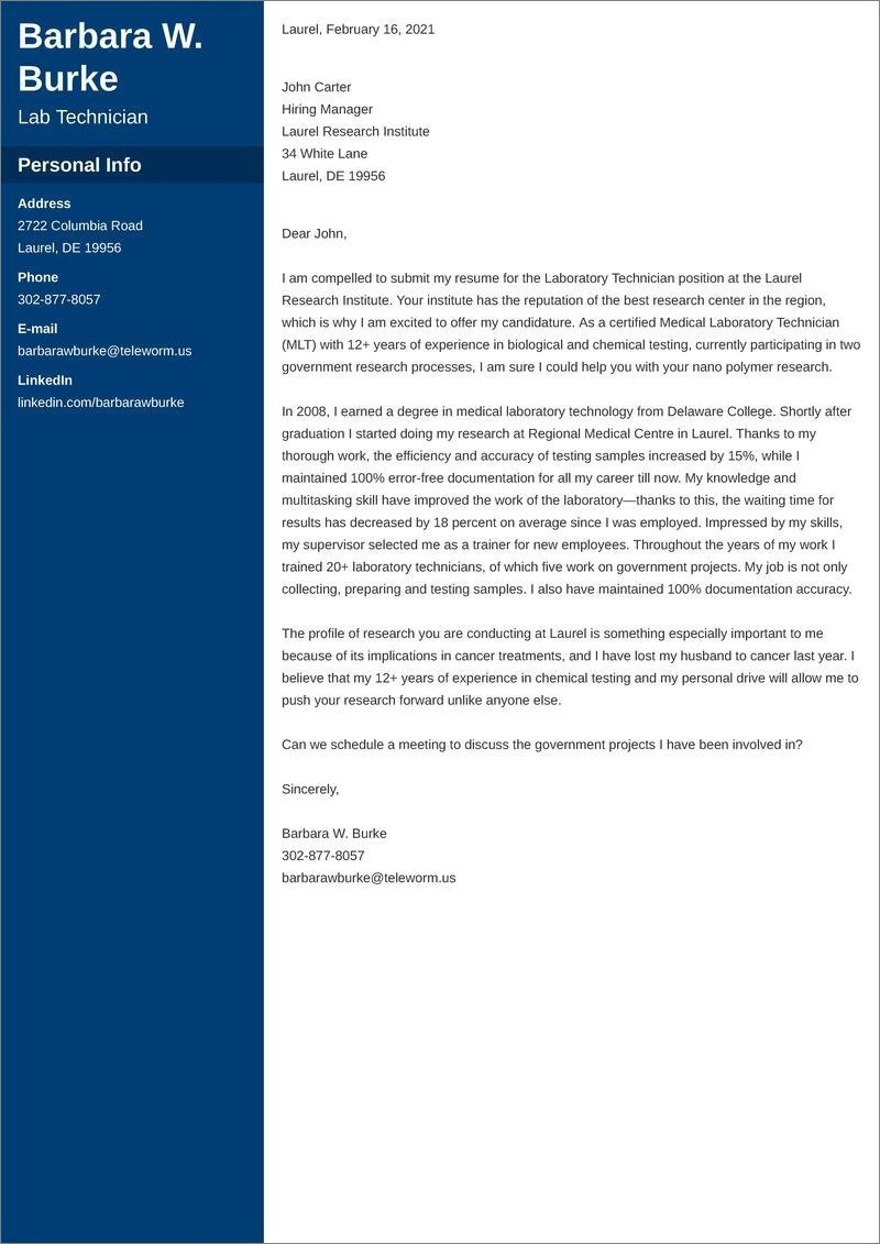 41+ Sophisticated Pharmacy Technician Cover Letter Samples  That Wow