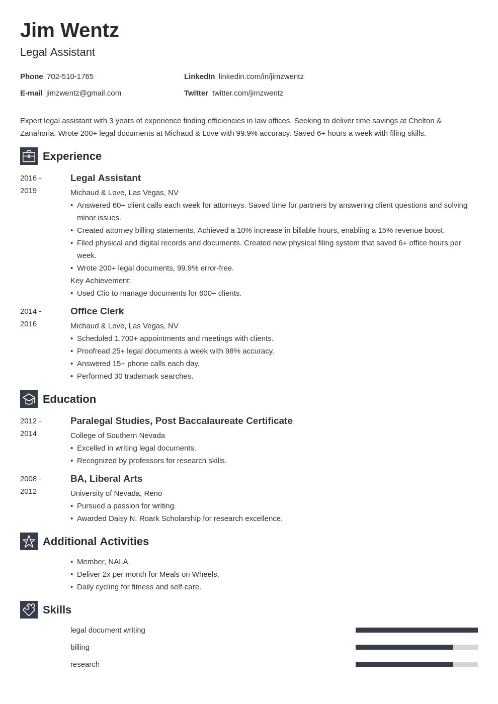 legal template newcast uk
