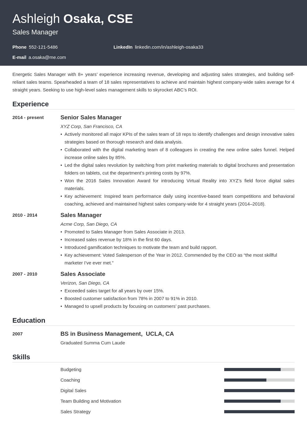 manager template influx uk
