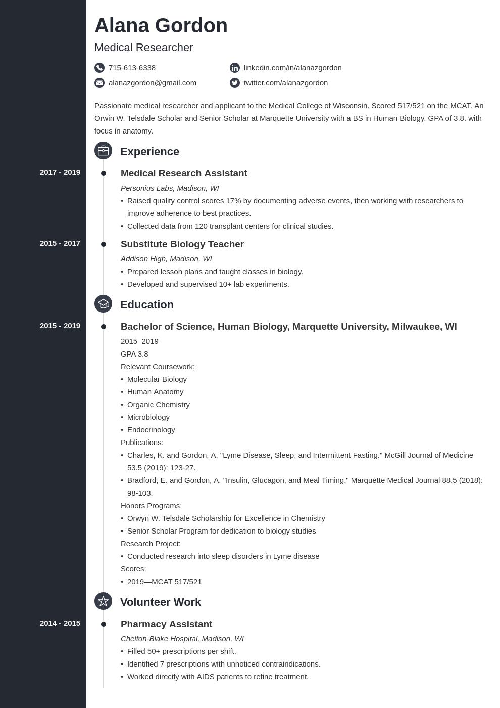 medical school template concept uk