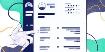 Modèles de CV professionnels à utiliser en 2021 [21 exemples]
