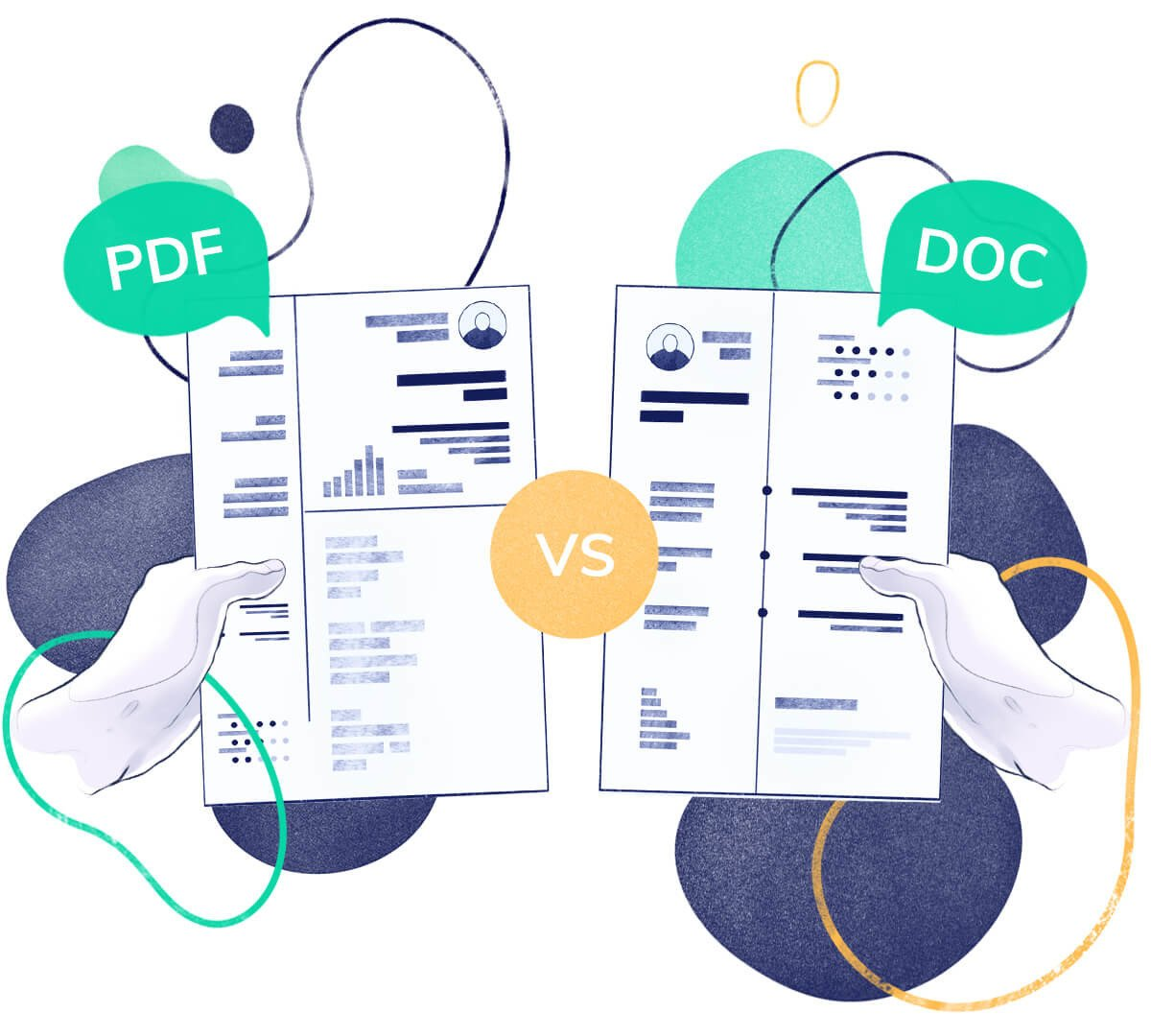 CV: PDF or DOC? Which File Type Works Best