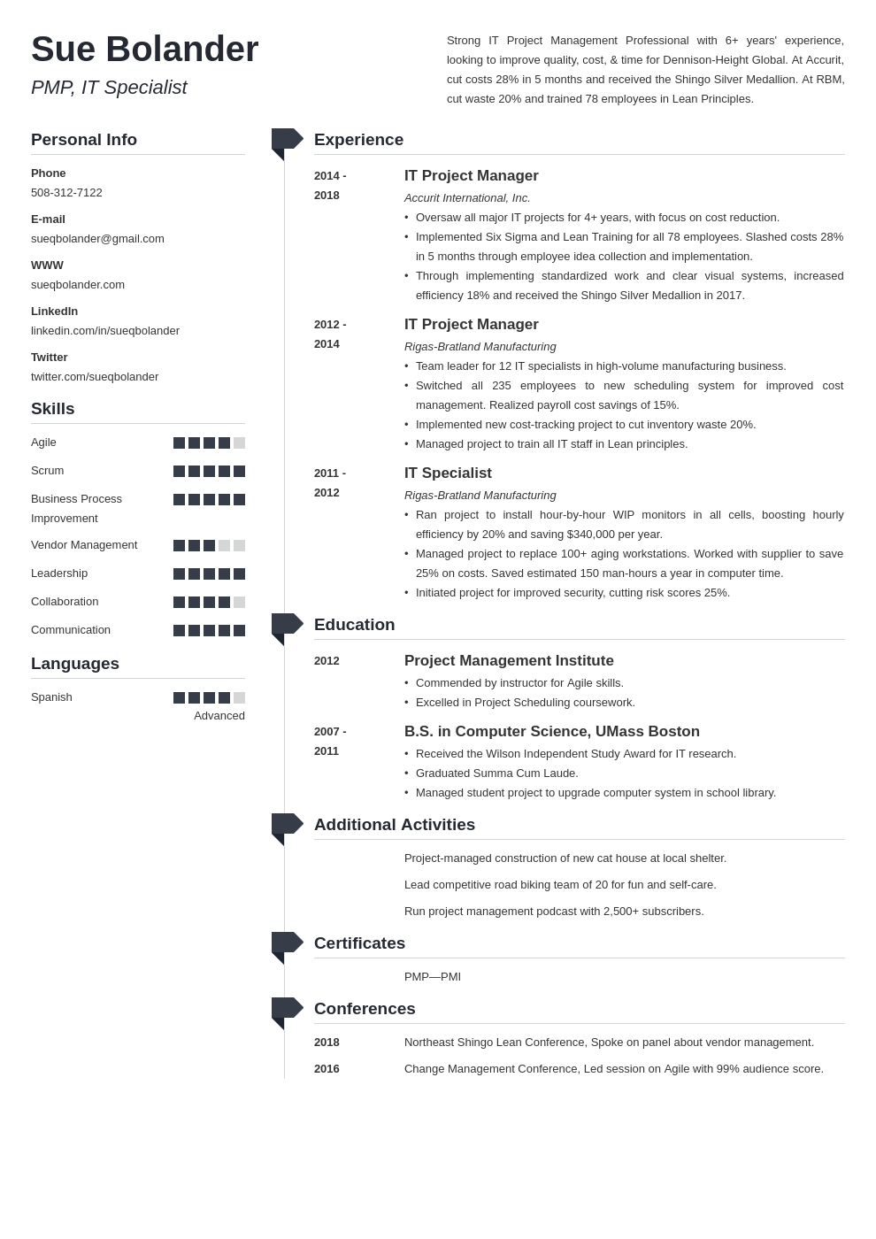 project manager template muse uk