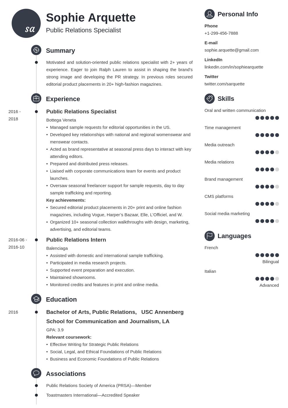 public relations template primo uk