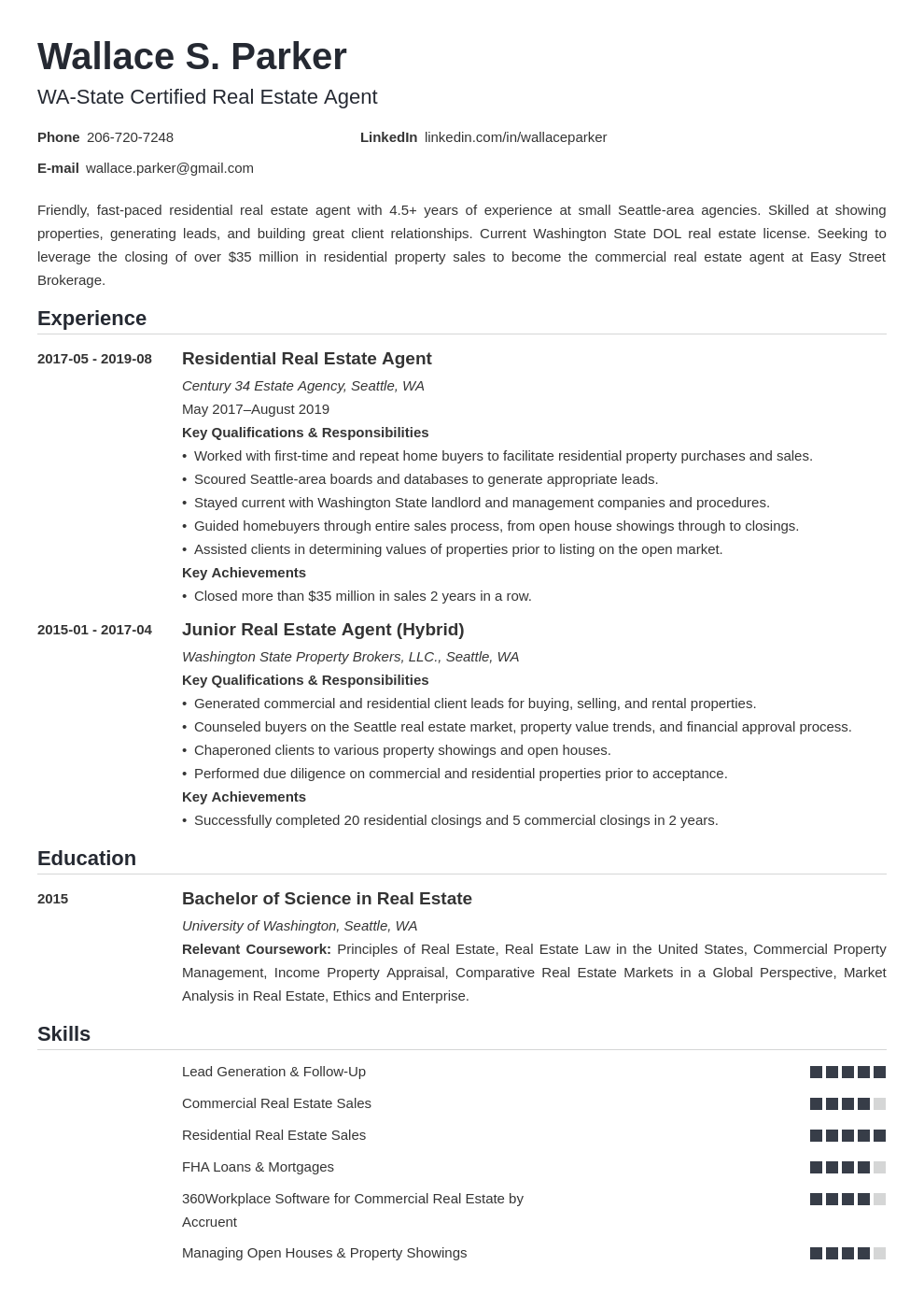 real estate template nanica