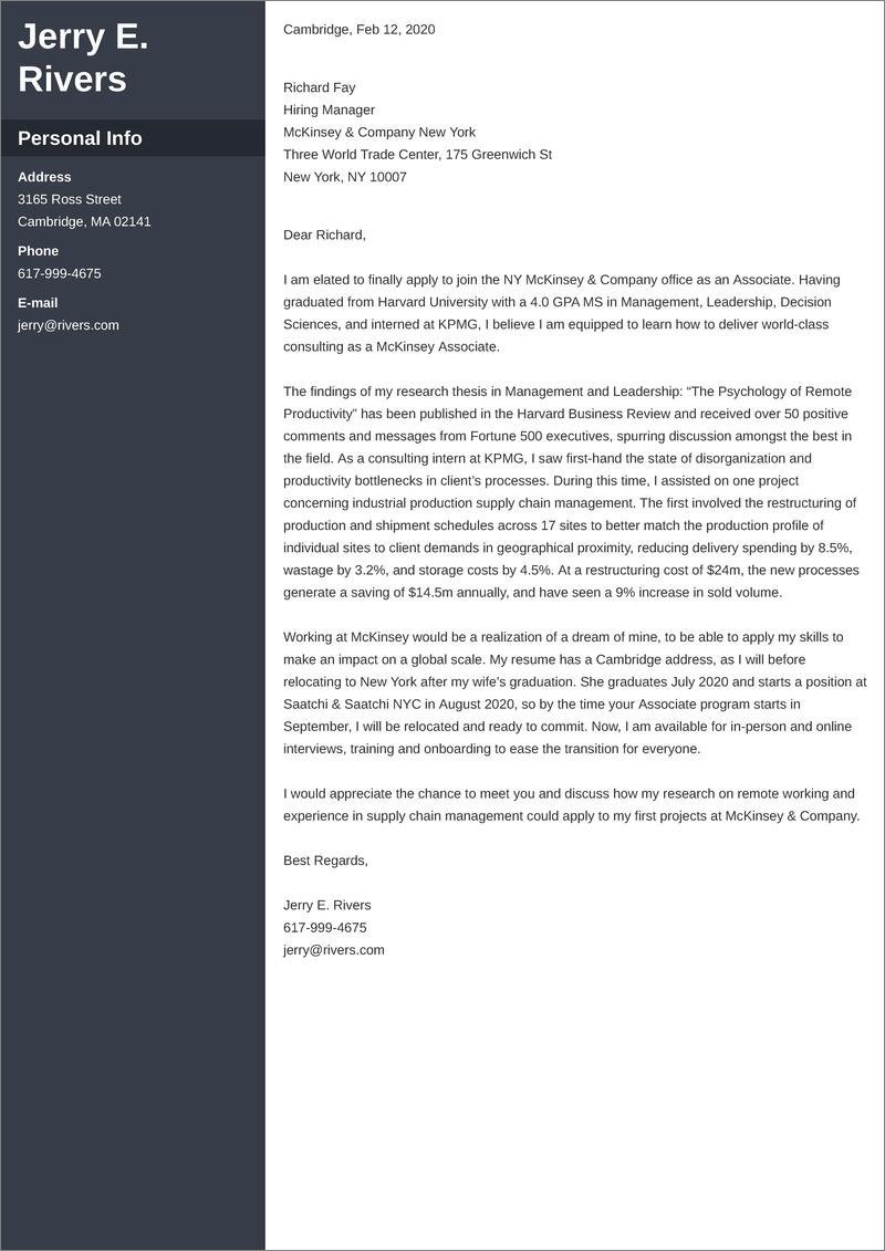 Relocation Cover Letter Sample Writing Tips