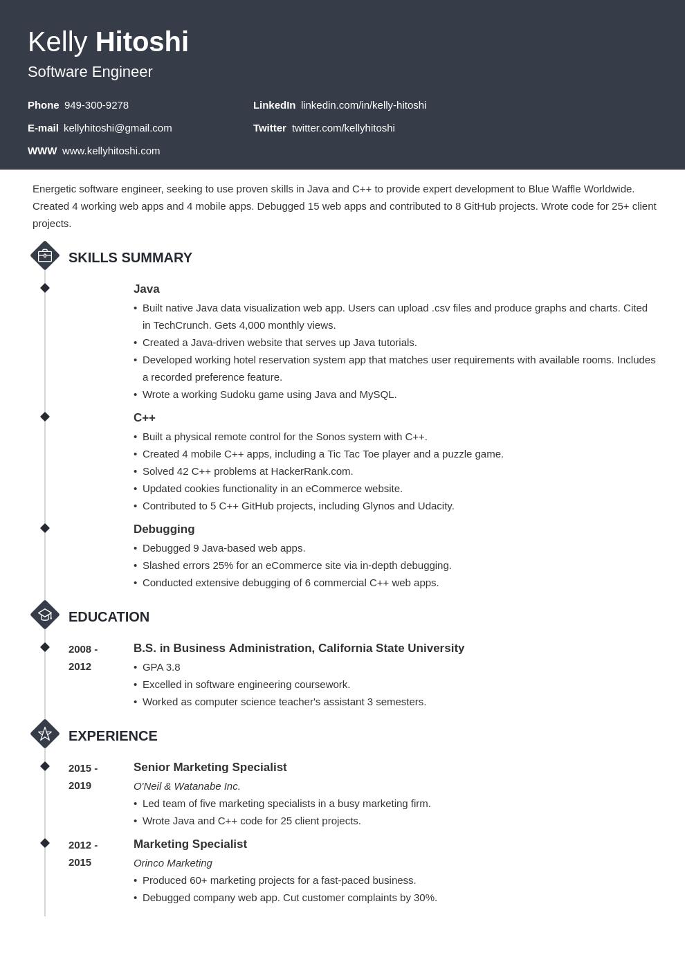 resume career change template diamond uk