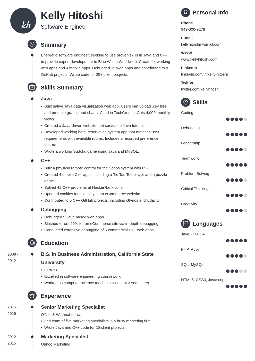 resume career change template primo