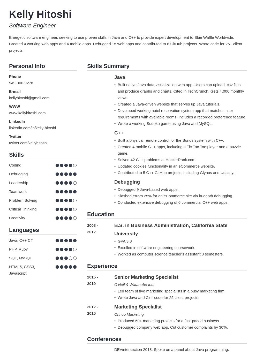 resume career change template simple uk