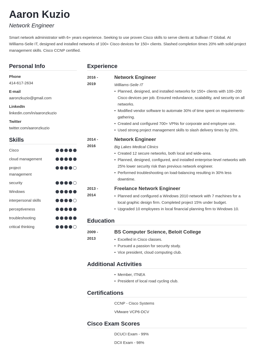 resume certifications template simple