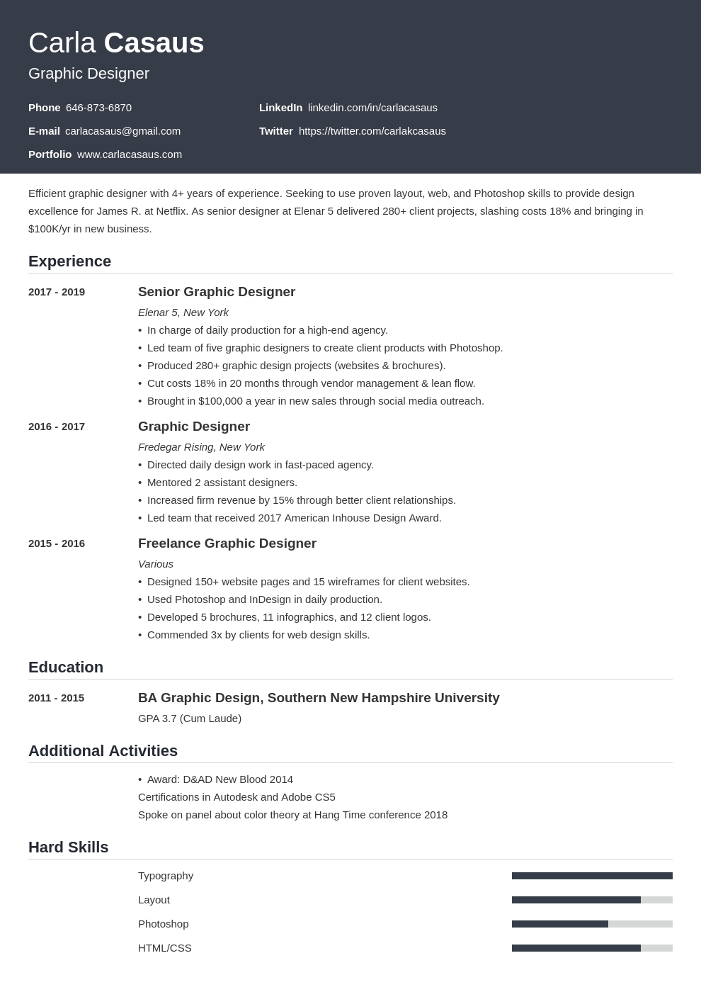 resume definition template influx