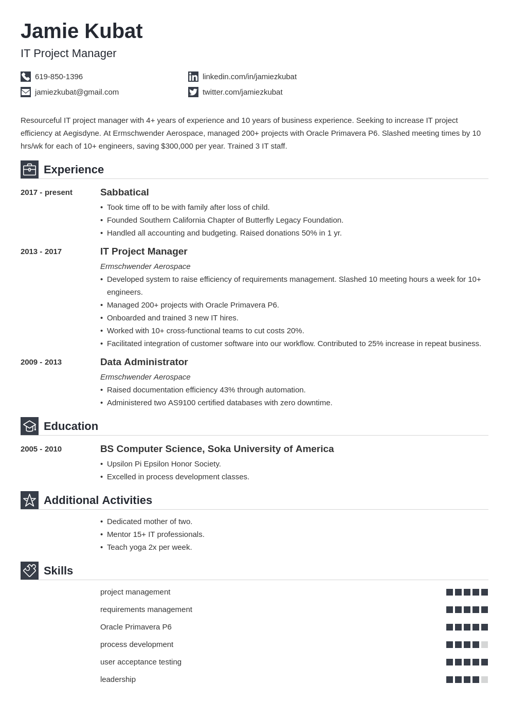resume employment gaps template iconic uk