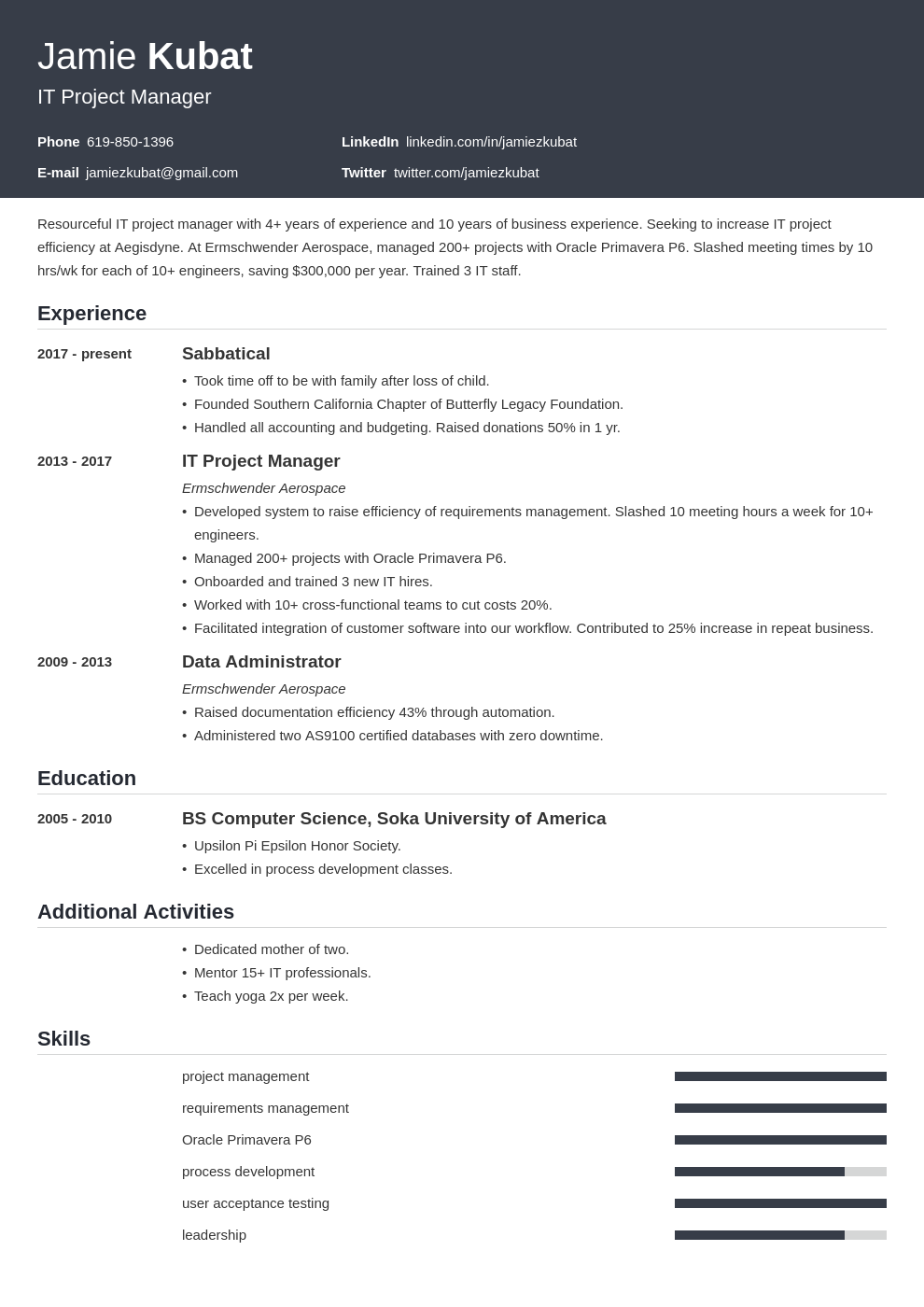 resume employment gaps template influx