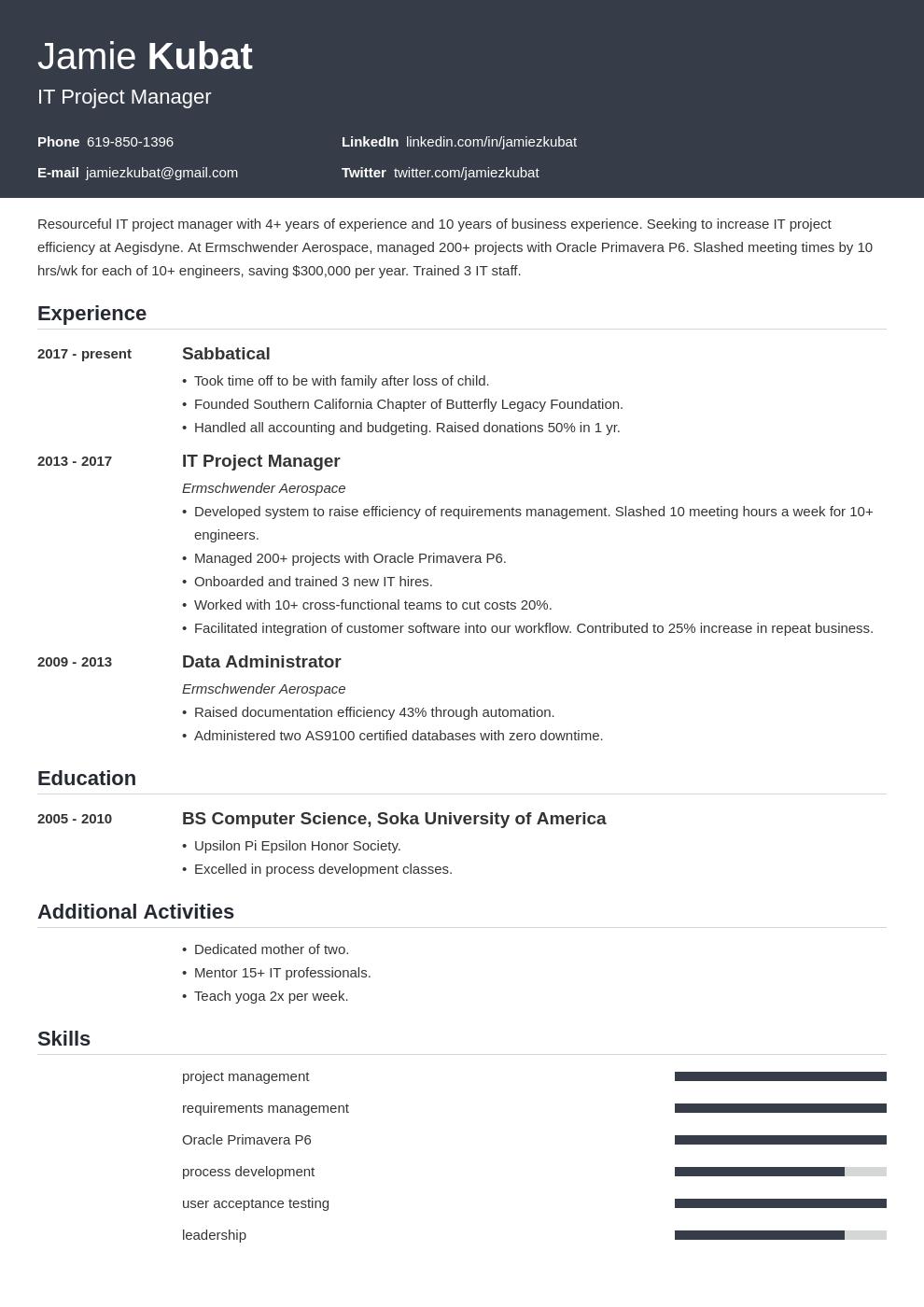 resume employment gaps template influx uk