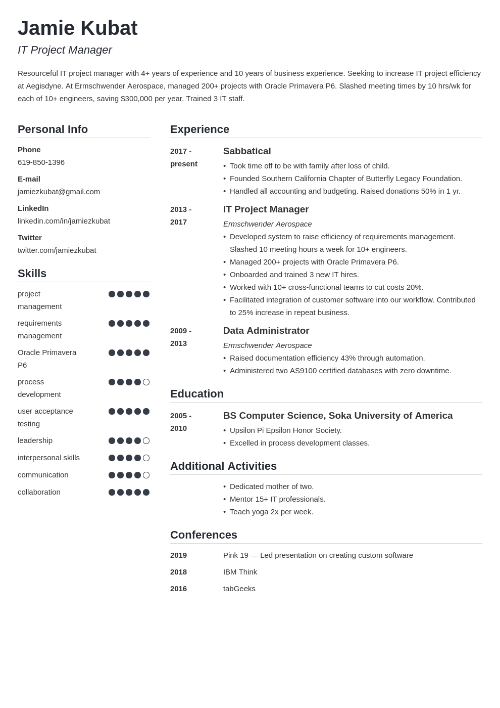 resume employment gaps template simple