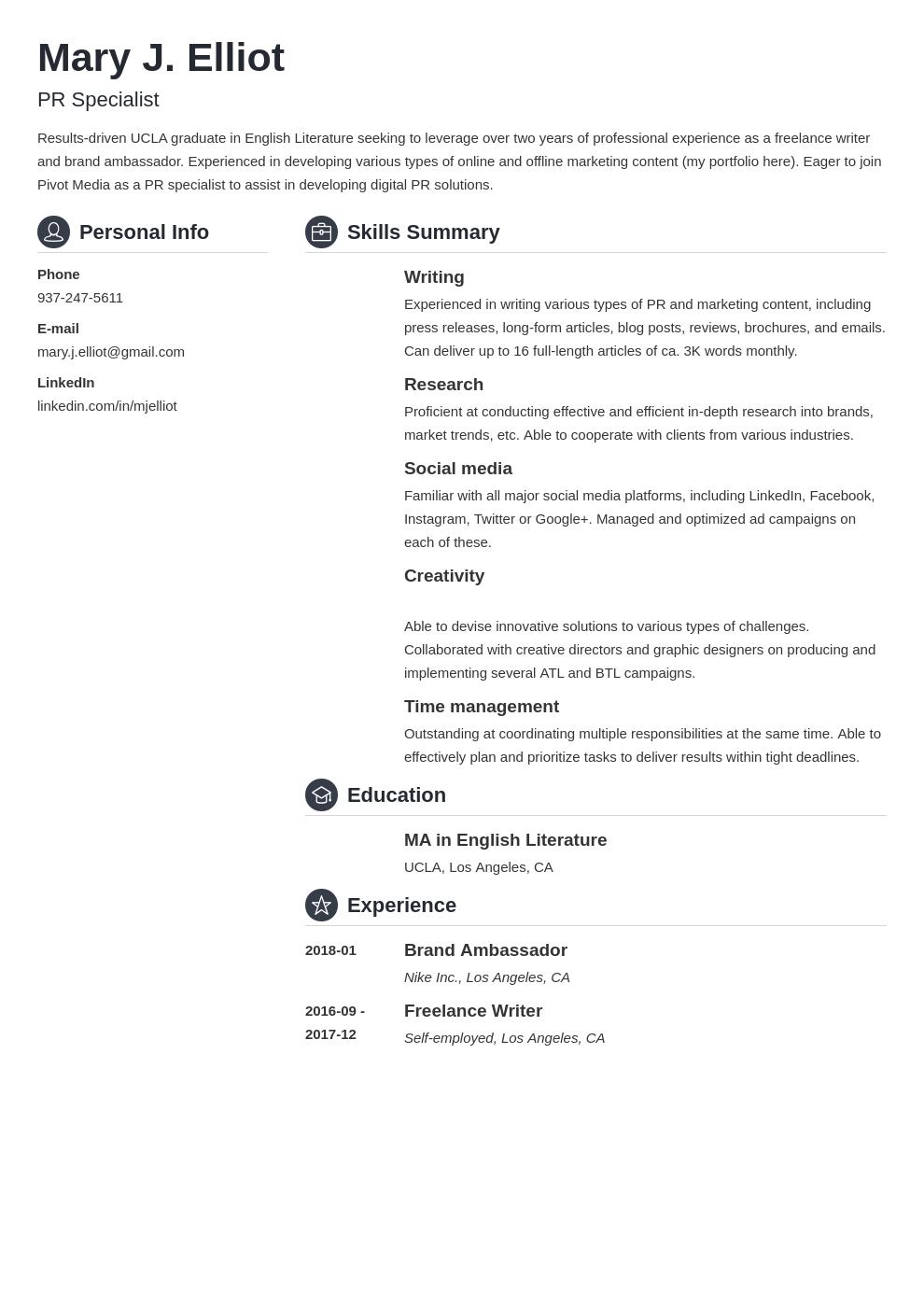 resume functional template crisp uk