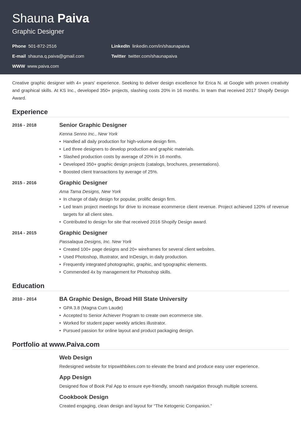 resume look template influx