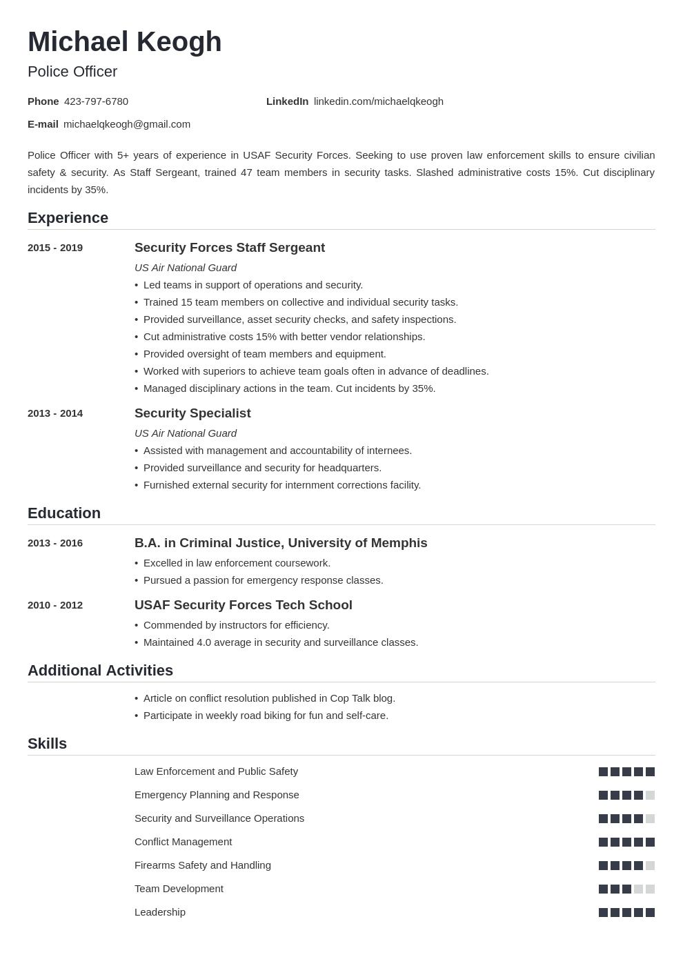 resume military template nanica uk