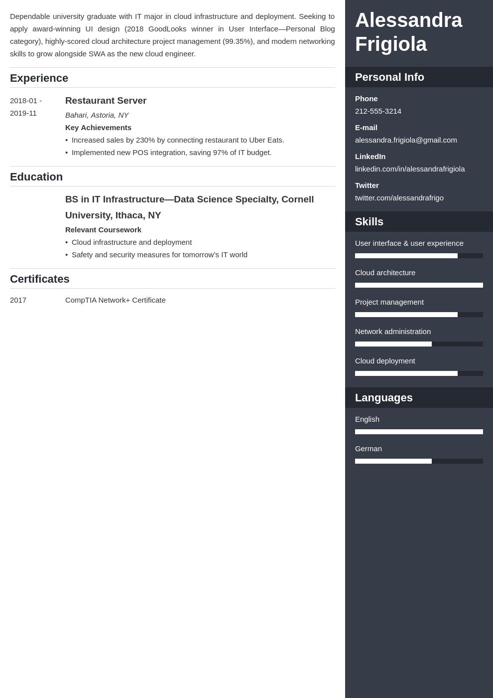 resume objective template enfold uk