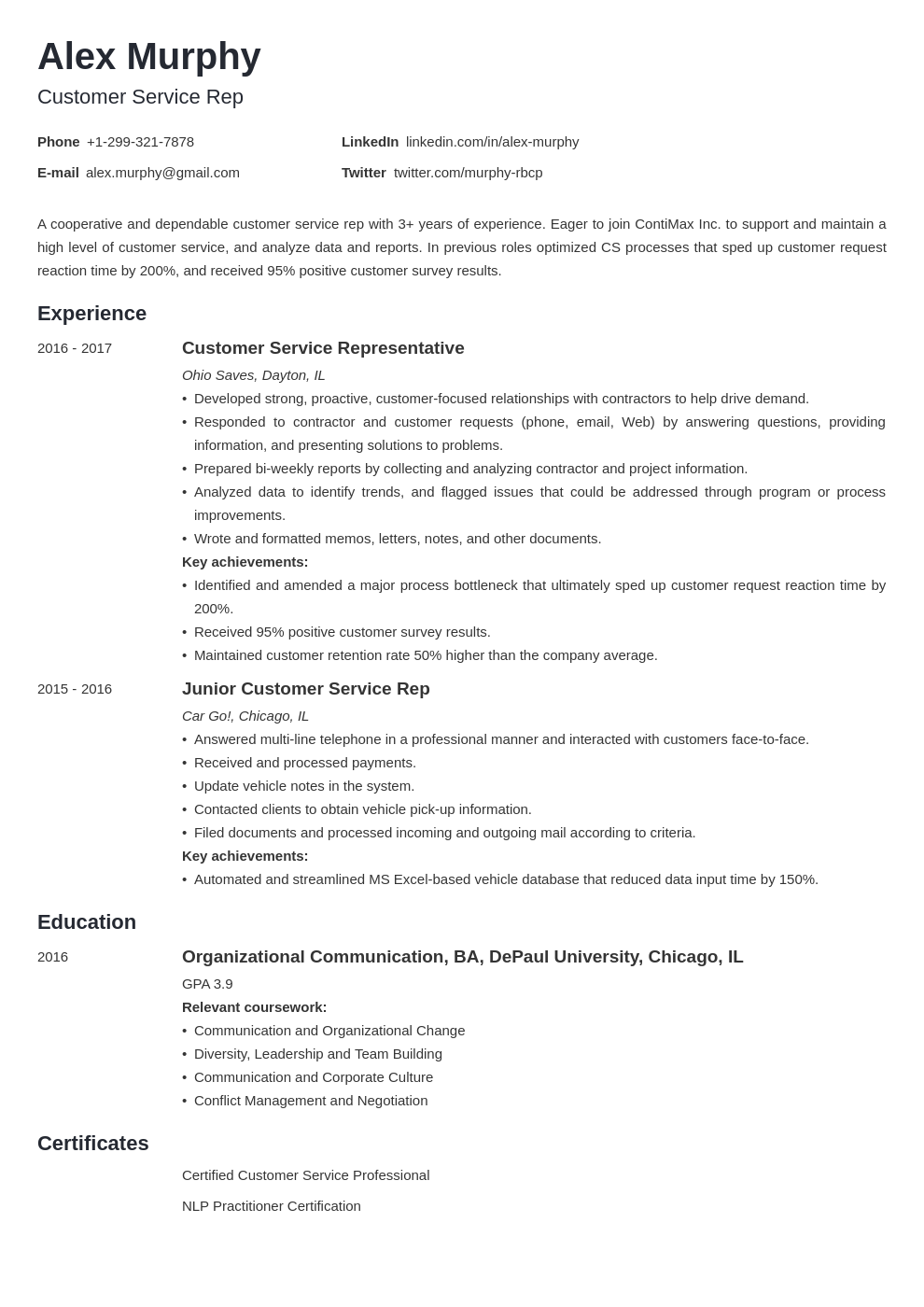 resume relevant coursework resume template minimo