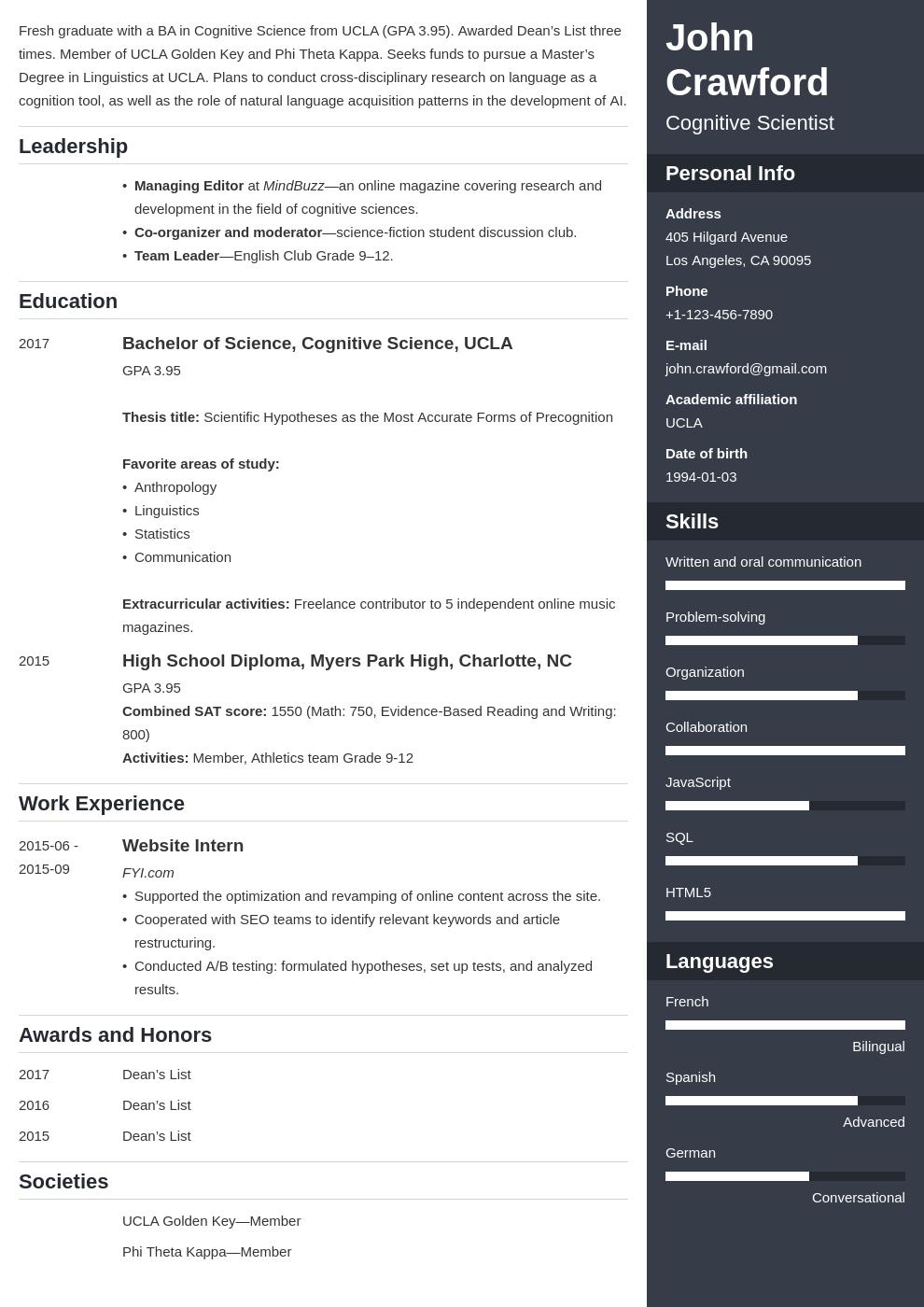 resume scholarship template enfold uk