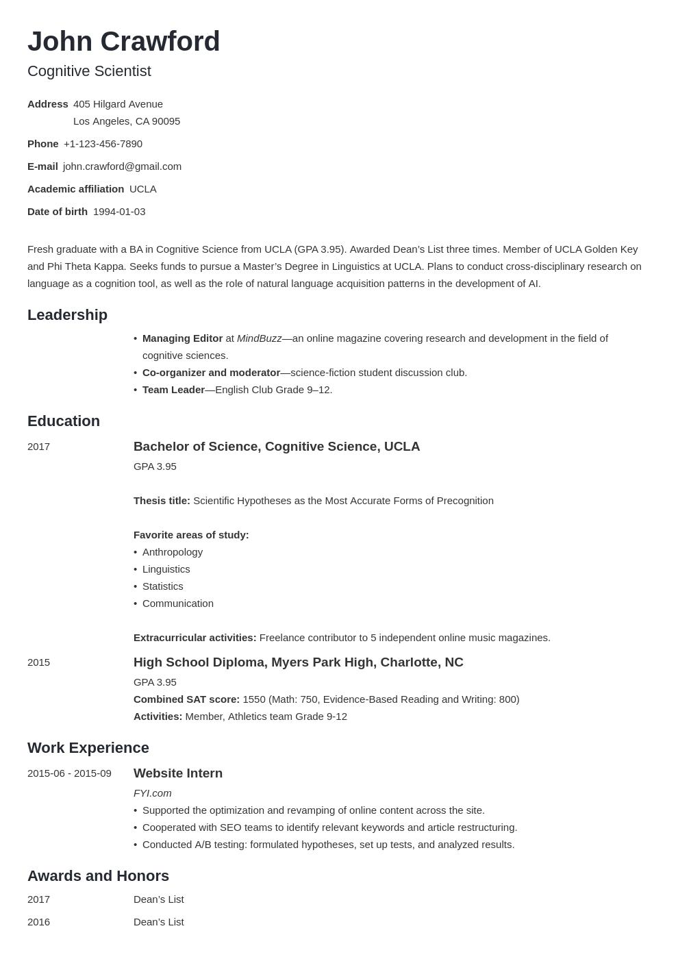 resume scholarship template minimo