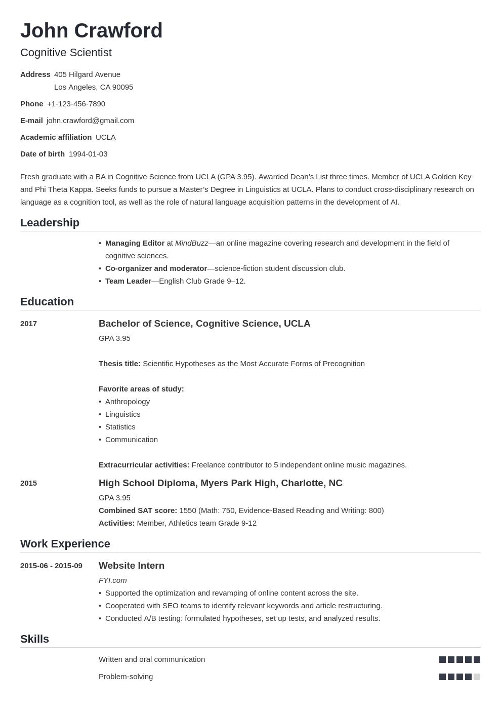 resume scholarship template nanica