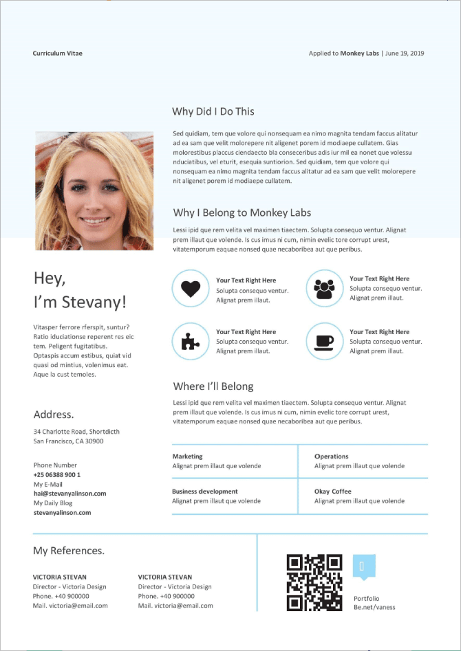 50 Free Microsoft Word Resume Templates To Download