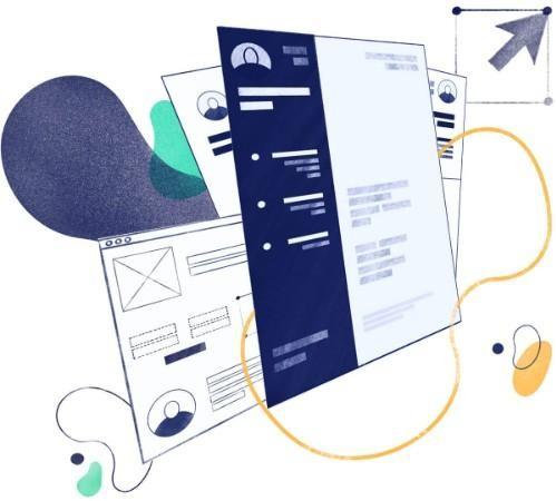Currículum creativo: 10 Plantillas para CVs Creativos
