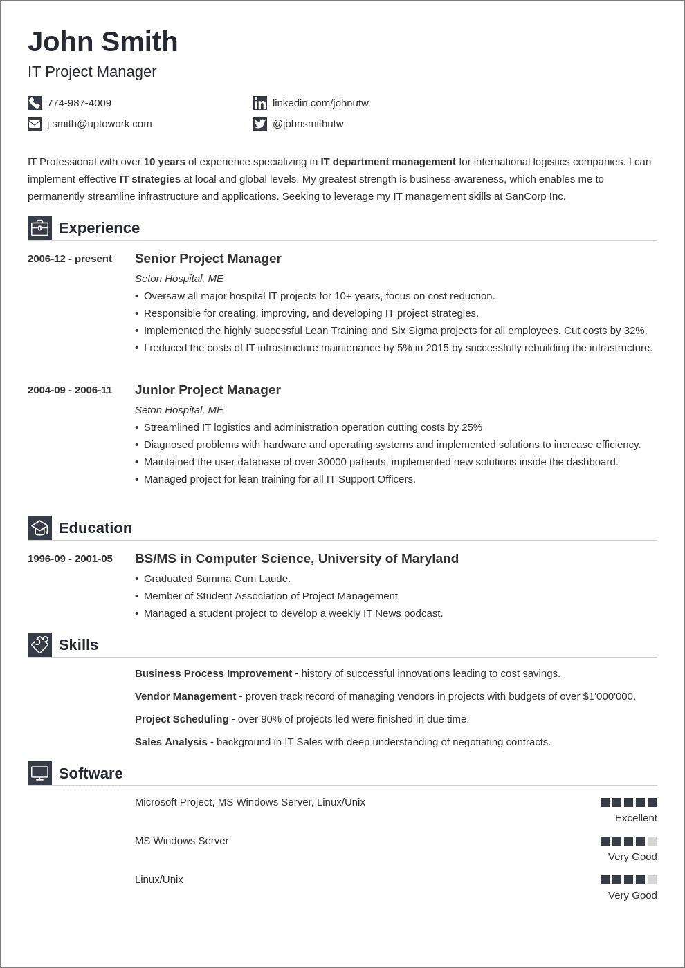 simple resume templates 16 basic formats to download