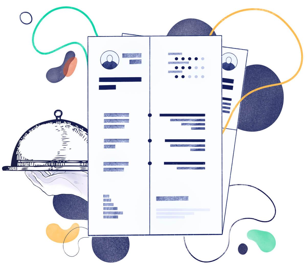 Server CV Samples & 20+ Writing Tips