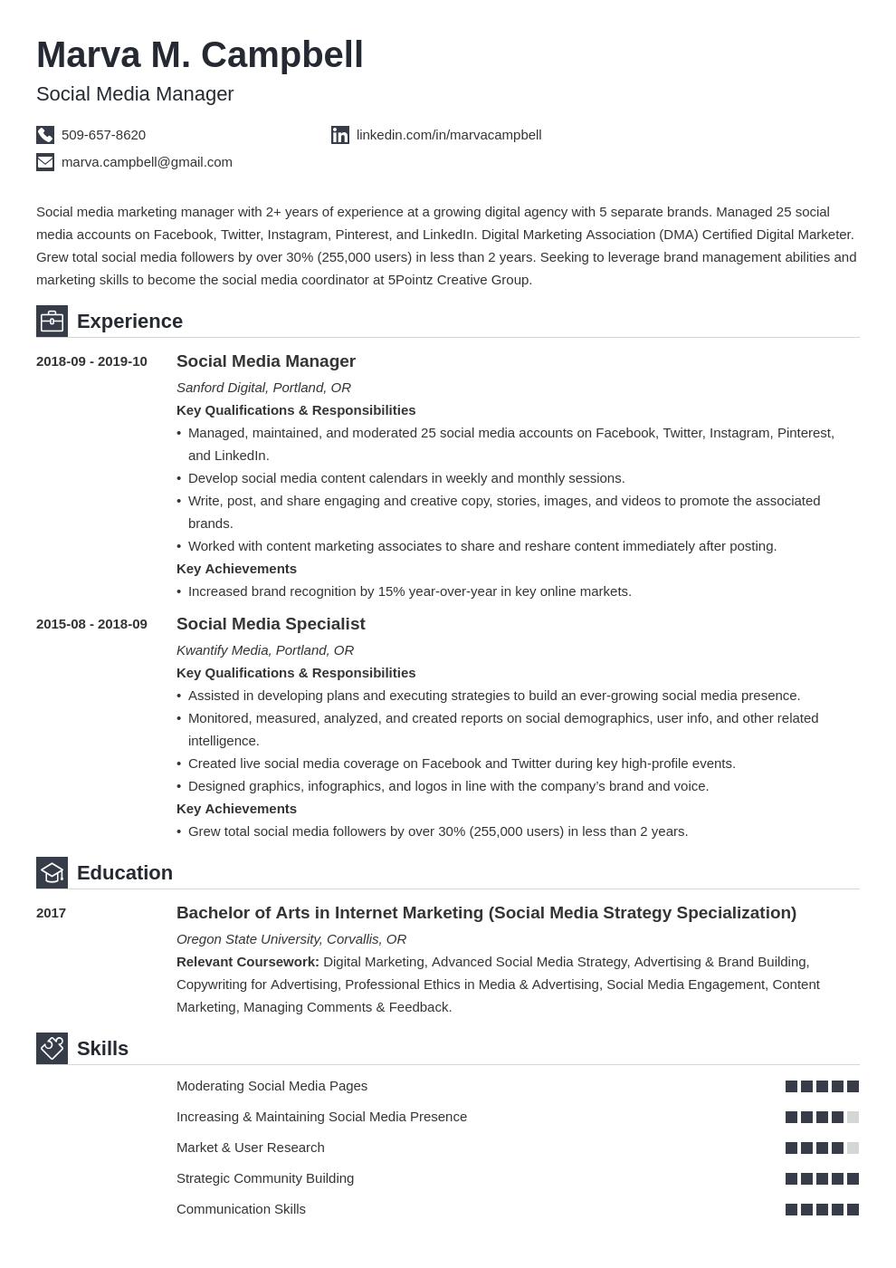 Cover Letter For Social Media Coordinator from cdn-images.resumelab.com
