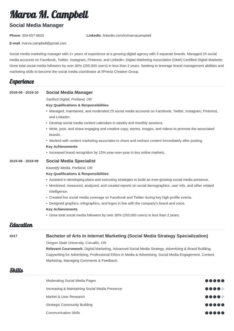 social media template valera uk