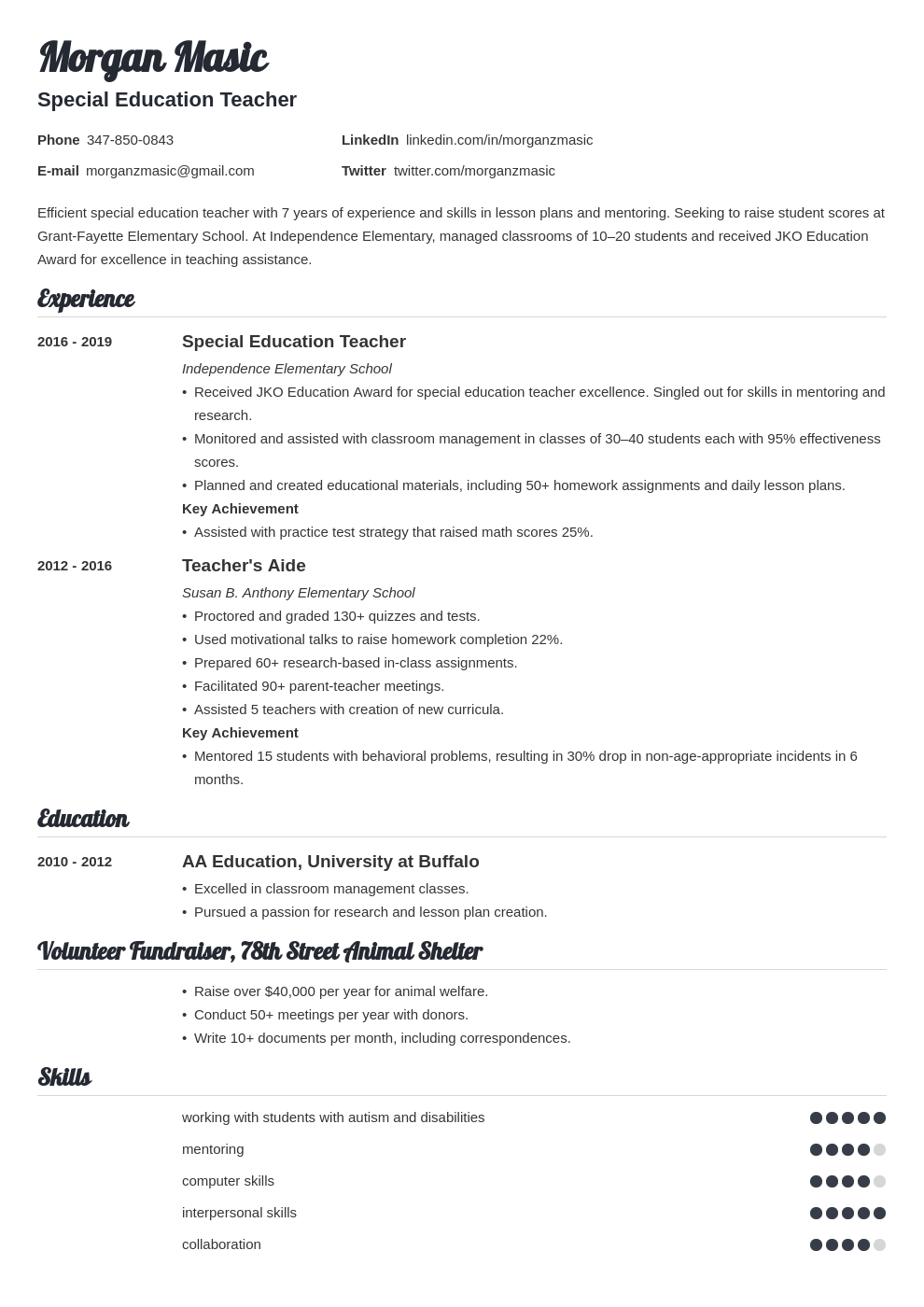 Cover Letter For Paraprofessional from cdn-images.resumelab.com