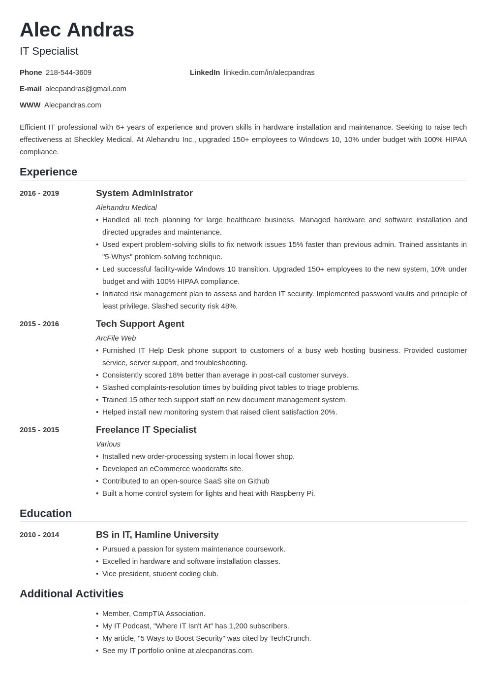 technical template nanica uk