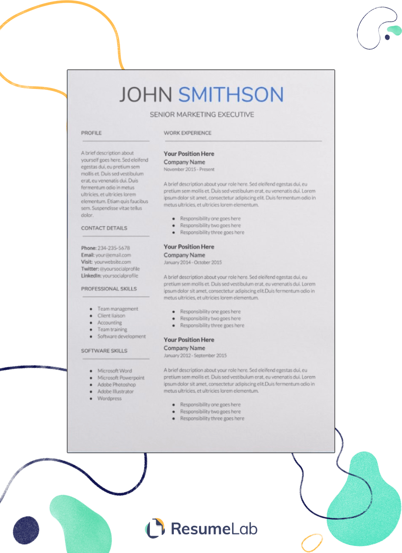 Resume Templates for Google Docs: 25+ Examples [Including Free]